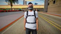 Skin Random from GTA ONLINE With Parachute for GTA San Andreas