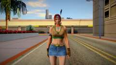 Tekken 7 Julia Chang Classic Tribe Outfit for GTA San Andreas