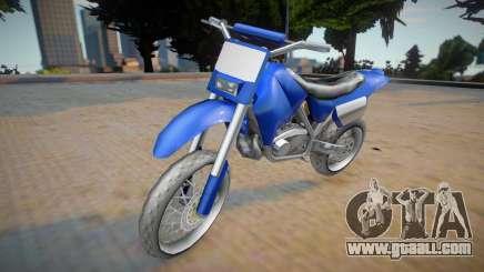 Yamaha XT660 (2015) for GTA San Andreas