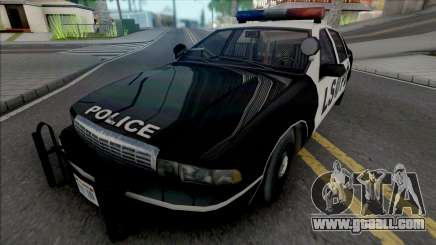 Chevrolet Caprice 1992 LSPD Improved for GTA San Andreas