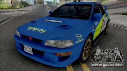 Subaru Impreza 22B Rally for GTA San Andreas