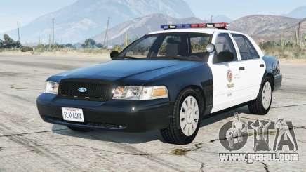 Ford Crown Victoria P71 Police Interceptor 2001〡LAPD [ELS] v4.6 for GTA 5