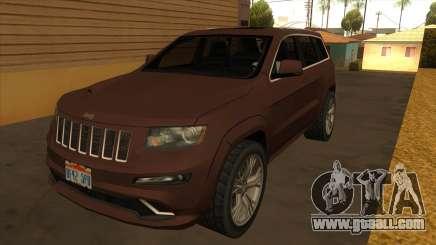 Jeep Grand Cherokee SRT 2012 for GTA San Andreas