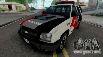 Chevrolet Blazer Advantage 2009 PMESP for GTA San Andreas