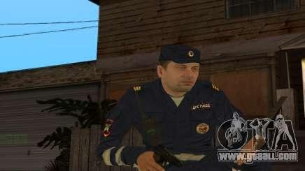 Skin Sergeant DPS for GTA San Andreas