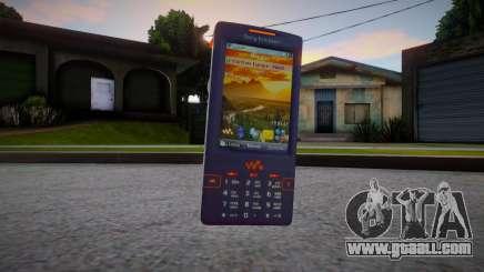 Sony Ericsson W950i for GTA San Andreas
