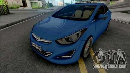 Hyundai Elantra Edit for GTA San Andreas