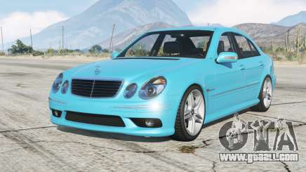 Mercedes-Benz E 55 AMG (W211) 2002 v1.2〡add-on for GTA 5