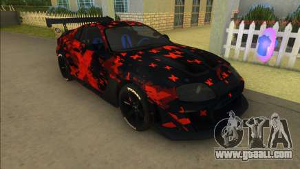 Toyota Supra MkIV Varis for GTA Vice City