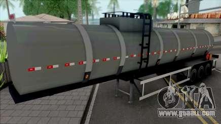 Tank Semi-trailer Improved for GTA San Andreas