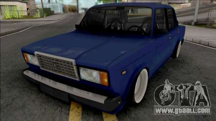 Vaz 2107 Stance for GTA San Andreas