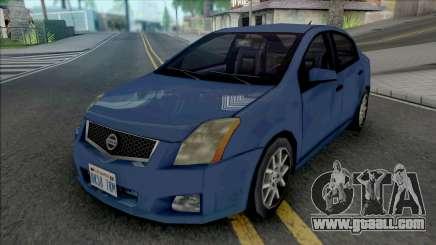 Nissan Sentra 2009 Improved v2 for GTA San Andreas