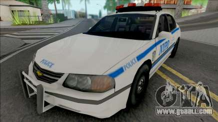 Chevrolet Impala 2003 NYPD (512x512 Texture) for GTA San Andreas