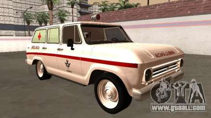Chevrolet Veraneio 1973 INAMPS Ambulance for GTA San Andreas