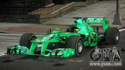 2013 Mercedes-Benz F1 W04 L10 for GTA 4