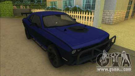 Lettys Dodge Challenger SRT for GTA Vice City