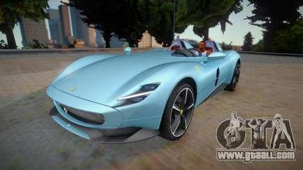 Ferrari Monza SP2 2020 for GTA San Andreas