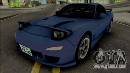 Mazda RX-7 FD3s Initial D 4th Stage Iwase Kyoko for GTA San Andreas