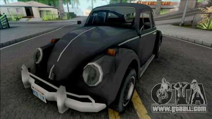 Volkswagen Fusca 1970 for GTA San Andreas