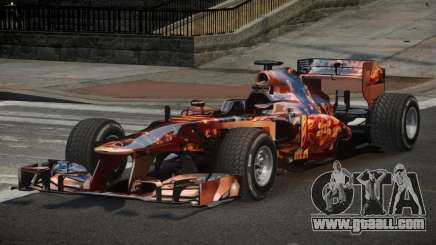 2013 Mercedes-Benz F1 W04 L7 for GTA 4