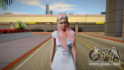 GTA Online Skin Ramdon Female Outher Dress Sexy for GTA San Andreas