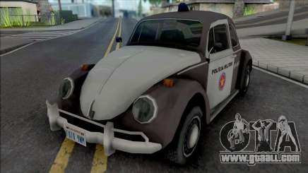 Volkswagen Fusca 1970 Military Police for GTA San Andreas