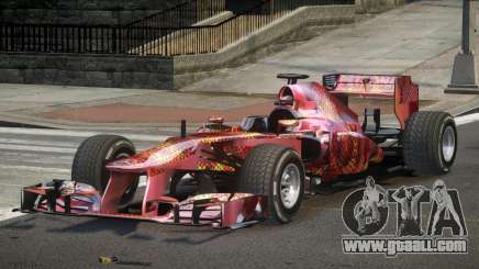 2013 Mercedes-Benz F1 W04 L4 for GTA 4