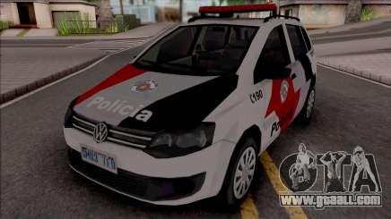Volkswagen Spacefox 2014 PMESP Improved for GTA San Andreas