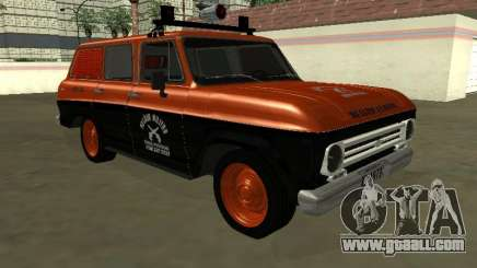 Chevrolet Veraneio 1973 Radio Patrol of Rio de for GTA San Andreas