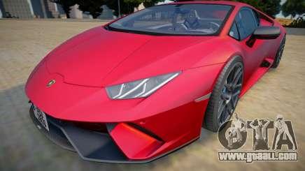 Lamborghini Huracan Performante 2020 for GTA San Andreas