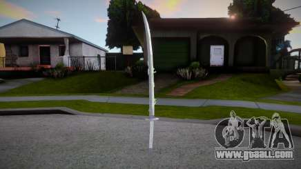 New Katana - Bakusaiga for GTA San Andreas