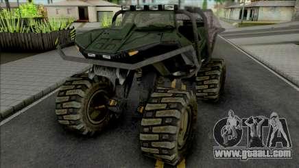 GTA Halo MonsterHog GGM Conversion for GTA San Andreas