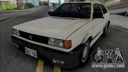 Volkswagen Gol 1994 White for GTA San Andreas