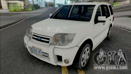 Ford Ecosport 2010 Improved v2 for GTA San Andreas