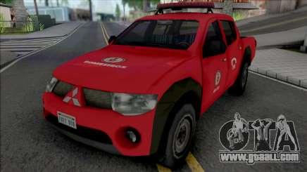 Mitsubishi L200 Triton 2010 CBMERJ Improved for GTA San Andreas