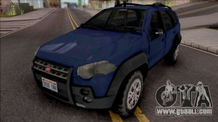 Fiat Palio Weekend Adventure 2013 for GTA San Andreas