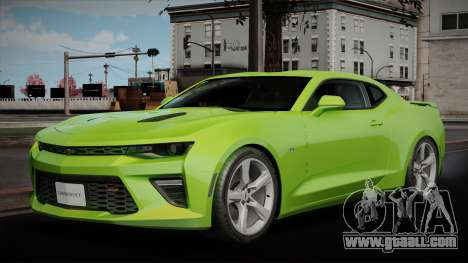 Chevrolet Camaro 2016 for GTA San Andreas