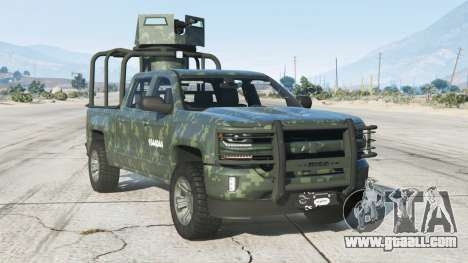 Chevrolet Cheyenne Armored Crew Cab 2017〡add-on