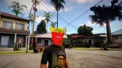 AQUA TEEN HUNGER FORCE - Frylock Mask For CJ for GTA San Andreas