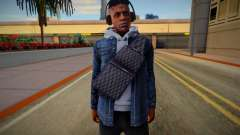 GTA Online Skin Ramdon XXXTentacion V3 for GTA San Andreas
