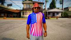 T-shirt Independence Day DLC V2 for GTA San Andreas