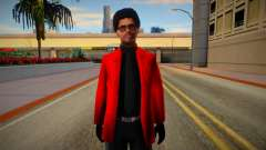 The Weeknd Skin for GTA San Andreas