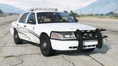 Ford Crown Victoria P71 Police Interceptor 2011〡Sheriff K-9 Unit [ELS]〡blue & blue emergency lights for GTA 5