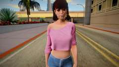 Tiffany Cox from Friday the 13th: The Game for GTA San Andreas