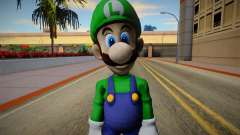 Luigi from Super Smash Bros. for Wii U for GTA San Andreas