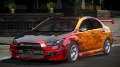 Mitsubishi Lancer X GST-R PJ4 for GTA 4