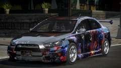 Mitsubishi Lancer X GST-R PJ7 for GTA 4