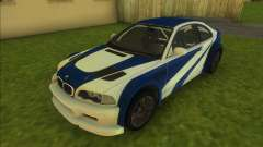 BMW M3 GTR for GTA Vice City