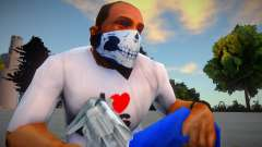 HD mask-skull for GTA San Andreas