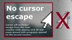 No Cursor Escape for GTA 4